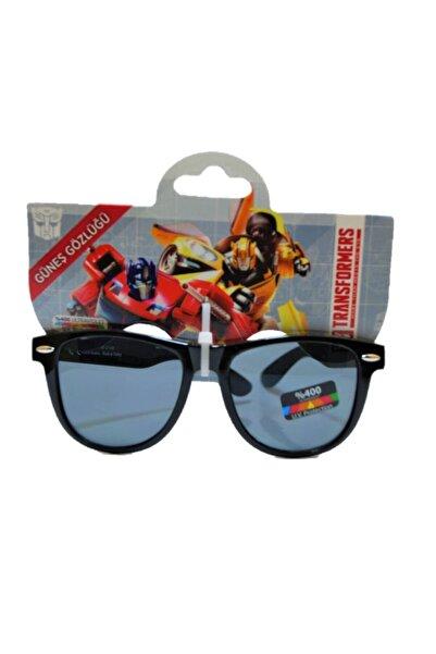 transformers Erkek Çocuk  Siyah Lisanslı Güneş Gözlüğü tr20673 Uv 400 Ultraviolet