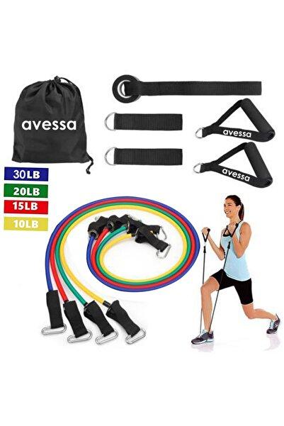 AVESSA 10 Parça Kapı Arası Direnç Lastiği Set Acs