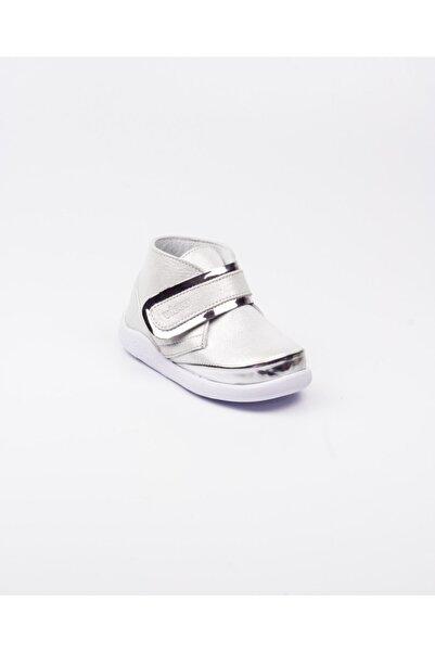 Vicco 915.b20k.046 Phylon Gümüş Deri Kız Bebek Bot(22-25) Gümüş-25