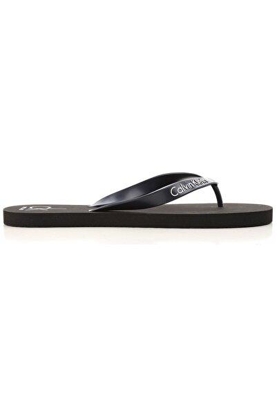 Calvin Klein Ünisex Siyah Sandalet
