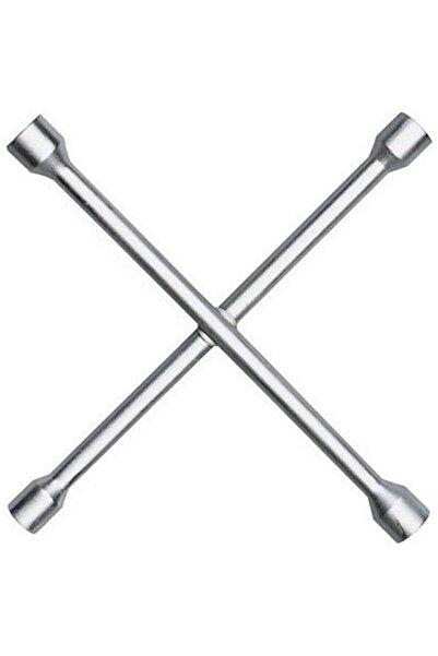 Carub Oto Lastik Bijon Çelik 4 Uçlu Bijon Anahtarı 17 19 21 23 Bijon