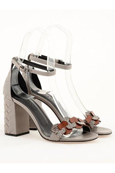 Nursace Hakiki Deri Klasik Topuklu Ayakkabı Nsc19y-a38814
