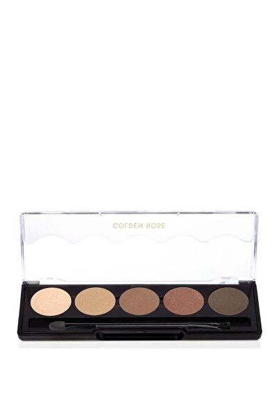 Golden Rose Professional Palette Eyeshadow No: 103 Brown Line 5'Li Göz Farı