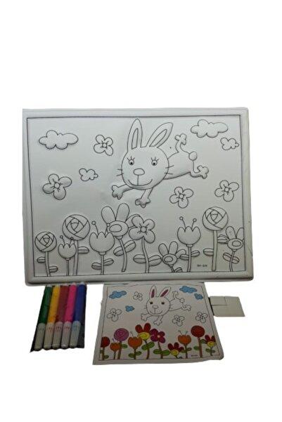 FİYPER 3d Boyama Seti Minik Tavşan