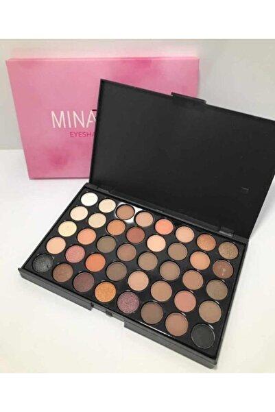 Makeuptime 40'lı Renkli Göz Farı Paleti Mina Beauty 2135135MB