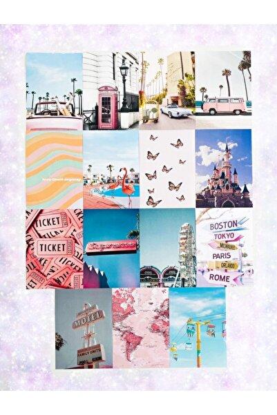 EFBUTİK 15 Adet Duvar Kağıdı E