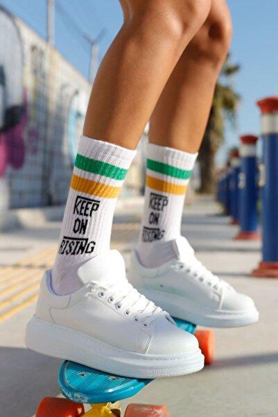 Chekich Kadın Beyaz Ayakkabı Ch257 Bt