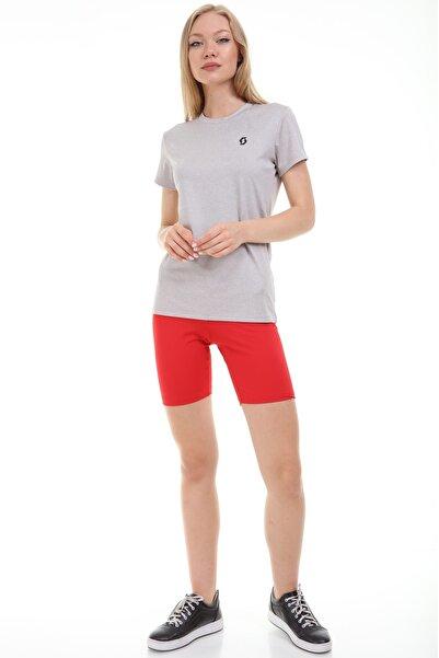 SPORTECH Kadın Bej Puıssance Cool Fıt Koşu Tişört