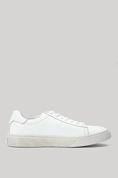 Lufian Steve Deri Sneaker Beyaz