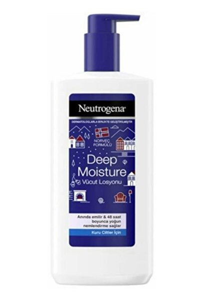 Neutrogena Deep Moisture Losyon Kuru 400 ml