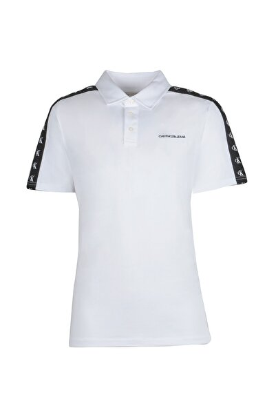 Calvin Klein Erkek Beyaz T-shırt 41q9044-103