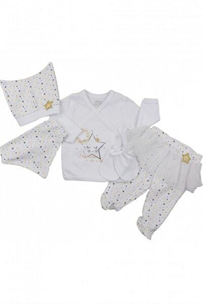 İmaj Little Stars Kız Bebek 5'li Zıbın Takımı