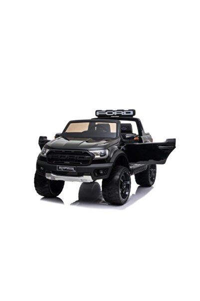 BARBUN Ford Ranger Raptor 12v Tablet Ekranlı Çift Kişilik Akülü Araba - Siyah