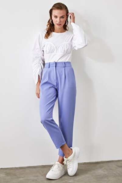 Mavi Kemer Detaylı Pantolon TWOSS19BB0468