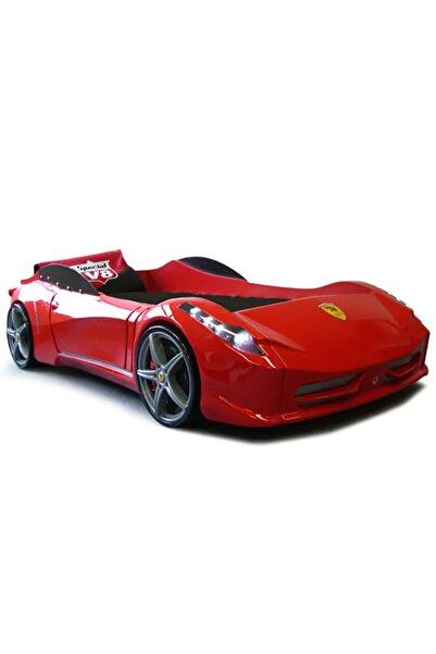 Setay Arabalı Yatak, Ferrari Arabalı Yatak Kırmızı