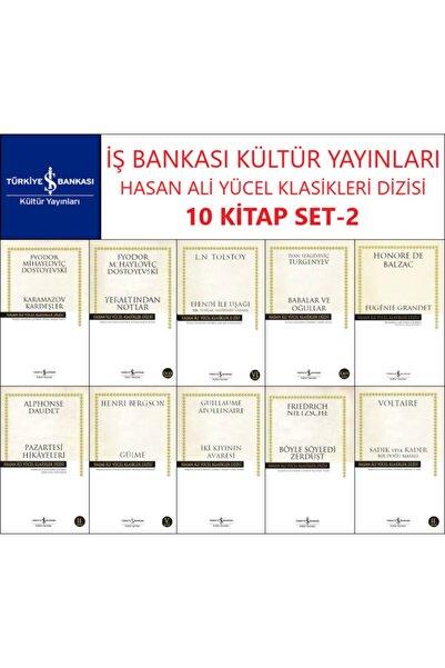İş Bankası Kültür Yayınları Iş Bankası Hasan Ali Yücel Klasikler Dizisi 10 Kitap Set 2 Dostoyevski-tolstoy-turgenyev-balzac