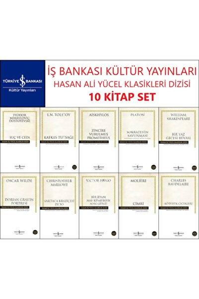 İş Bankası Kültür Yayınları Iş Bankası Hasan Ali Yücel Klasikler Dizisi 10 Kitap Set Dostoyevski-tolstoy-aiskhylos-platon