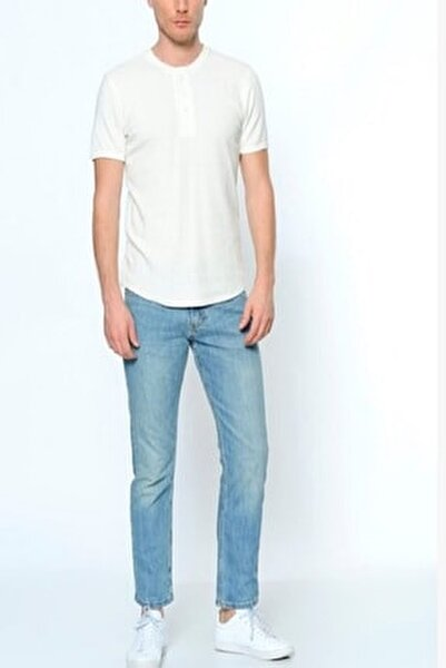 Erkek Açık Mavi Jeans Pantolon 29990-0478