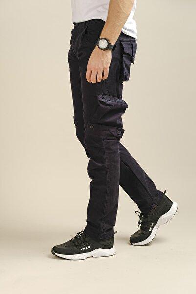 Oksit Erkek Lacivert Kargo Pantolon