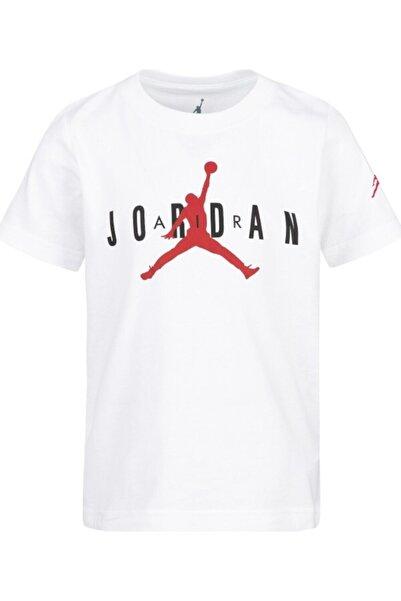 Nike Kids Unisex Çocuk Beyaz Jordan Jdb Brand Tee 5 Tişört