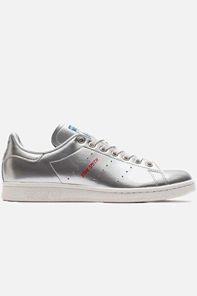 adidas Kadın Gümüş Stan Smıth Ayakkabı
