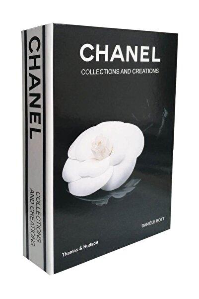 LYN HOME & DECOR Siyah Chanel Collections and Creations Dekoratif Kutu