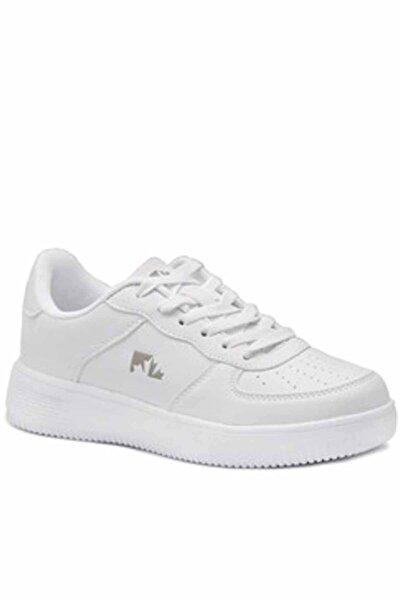 lumberjack Beyaz Kadın Yürüyüş Ayakkabısı