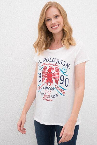 U.S. Polo Assn. Kadın T-Shirt G082SZ011.000.1089041