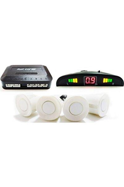 Marka Park Sensör Ekranlı Sesli Açma Kapama Düğmeli Beyaz