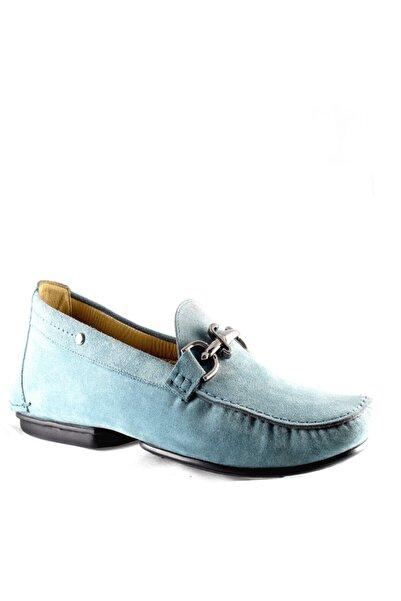 Cesare Paciotti Erkek Mavi Loafer Ayakkabı 45051