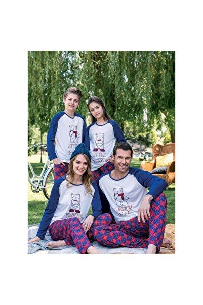 Yeni İnci Kadın Lacivert Pijama Bpj1378 Sax