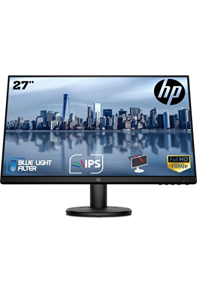 "HP V27i 27"" 60hz 5ms Hdmı+Analog Full Hd Ips Monitör 9sv94aa"