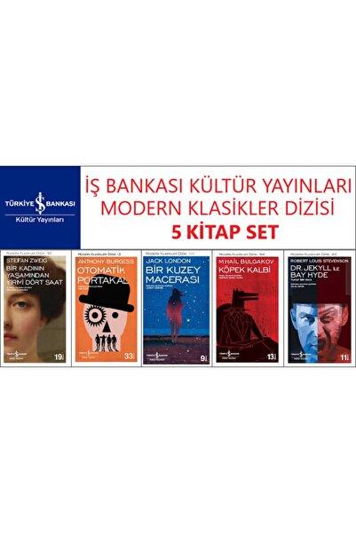 İş Bankası Kültür Yayınları Iş Bankası Modern Klasikler Dizisi 5 Kitap Set Stefan Zweıg-anthony Burgess-jack London