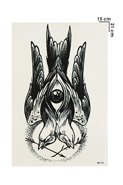 TAKIŞTIR Geçici Göz Ve Kuş Dövme Tattoo