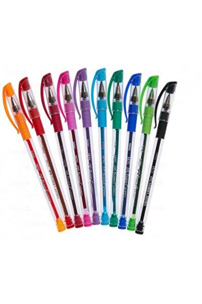 Ceren Kırtasiye Faber Castell 10 Renk Iğne Uçlu Tükenmez Kalem Set