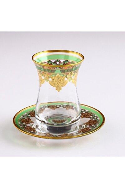 Paşabahçe Dekoratif Hurrem Varaklı Çay Takımı