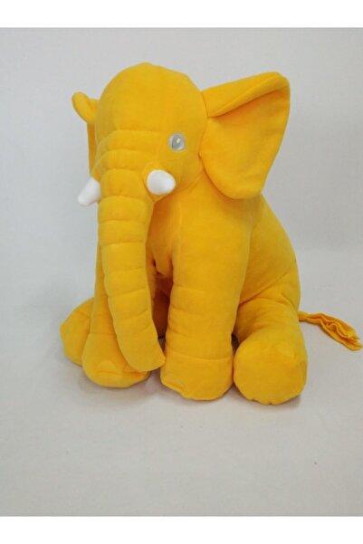 BEBEYATMAZ Mega Boy Sarı Uyku Arkadaşım Peluş Fil 75 cm