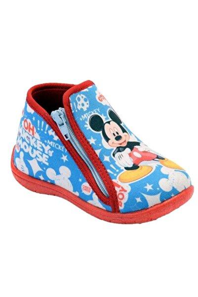 Hakan Çanta Mickey Mouse 90113m Erkek Çocuk Panduf Ev Kreş Ayakkabısı