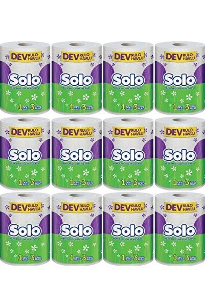 Solo Dev Rulo Kağıt Havlu 12 Paket