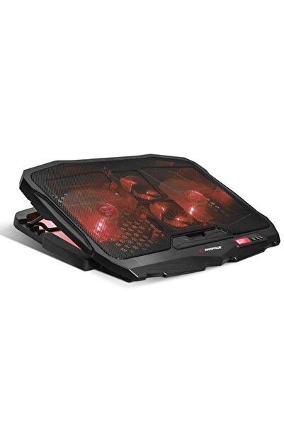 ADDISON Rampage Ad-rc4 Işıklı Gaming Laptop Soğutucu 2x125mm+2x70mm 15-17 Notebook Soğutucu Stand