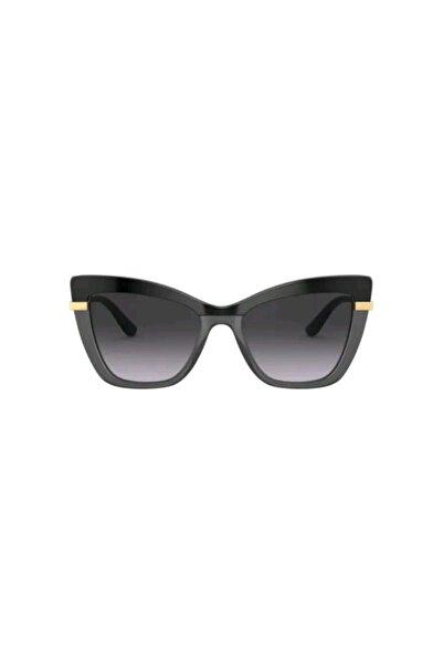 Dolce Gabbana Kadın Siyah Güneş Gözlüğü 4374 3246/8g 54-18