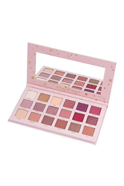 Cocosh She 18'li Göz Farı Paleti - Messy Beauty 18 Color Eyeshadow Palette 8681569700055
