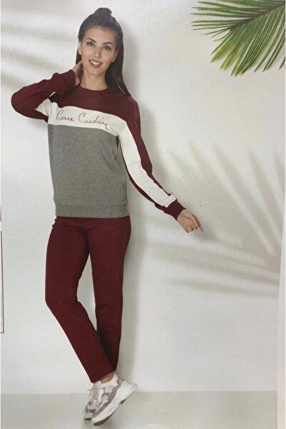 Pierre Cardin  Pijama Kadın Bordo  Eşofman Takımı Pierre Cardın