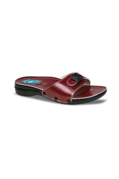 Ceyo , 6500-1 Minelli (35-40), Topuk Dikeni, Kadın Terlik, Kırmızı