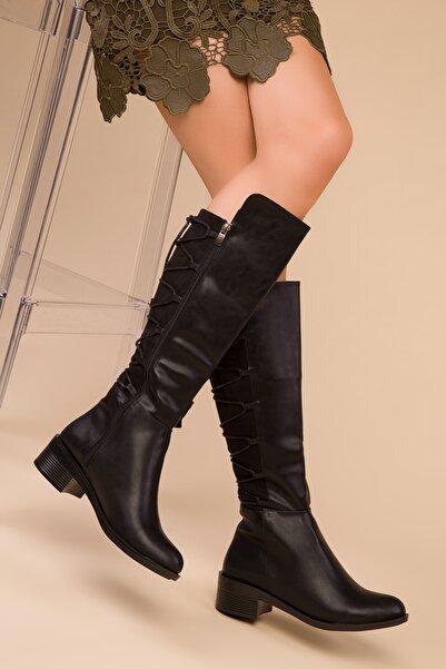 SOHO Siyah Kadın Çizme 15263