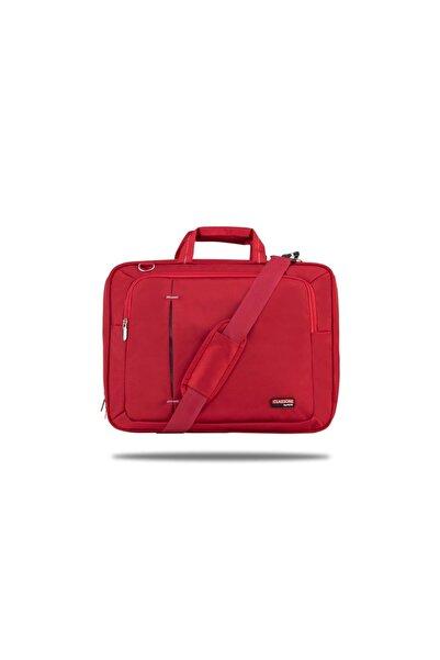 Classone Kırmızı UL162 15,6 inç Uyumlu Laptop Notebook El Çantası