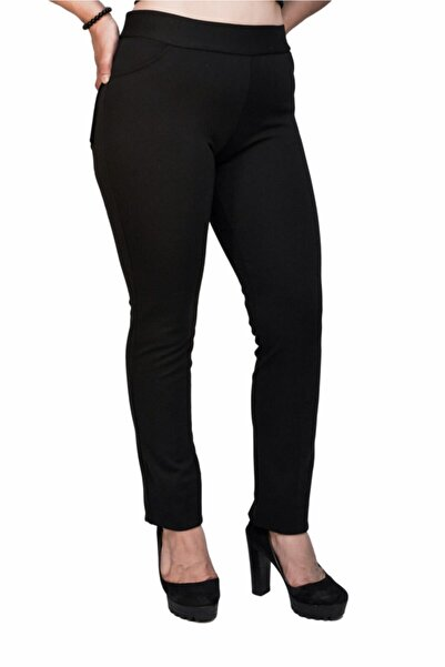 Otto Kadın Siyah Tayt Pantalon