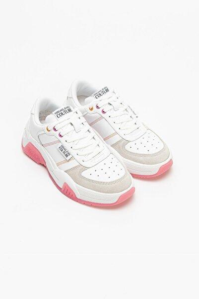VERSACE JEANS COUTURE Kadın Deri Süet Sneakers