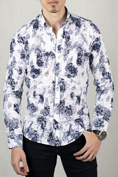 DeepSEA Beyaz Uzun Kol Gömlek 2006072