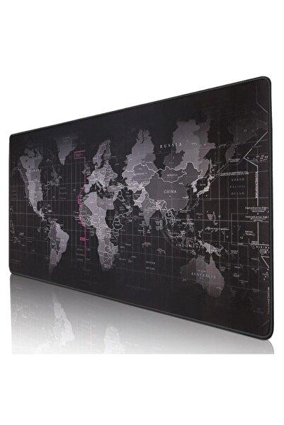 BARAN Dünya Haritalı 90x40 cm Mouse Pad